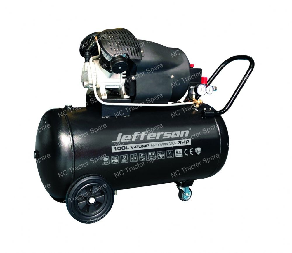 100 Litre 3HP V Pump Compressor